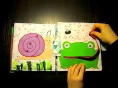 Quiet book Sara by Neverland- creative toys - YouTube
