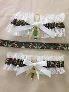 "Camouflage ""Camo"" Garters by SportzNutty on Etsy"
