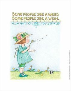 Some people see a weed