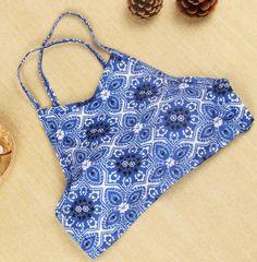 Fashion shoulder strap Polka Dot Bikini