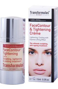 Transformulas Face Tightening and Contouring Cream, $59.00. Click photo to buy. Face Tightening, Cream Contour, Click Photo, Ageing, Contouring, Anti Aging, Sculpting, Glow, Beauty