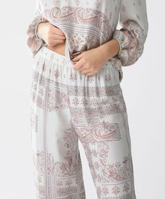1f1cf8a346 Indian trousers - null - Spring Summer 2017 trends in women fashion at  Oysho online.