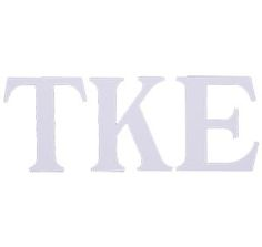 Tau Kappa Epsilon Compu-Cal style decal