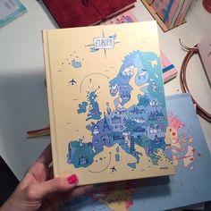 Próximo destino: Europa  Si este es tu caso buscá el #CuadernoDeViaje en nuestra tienda antes de partir: http://ift.tt/2aSp2hs