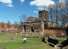 Jewry Wall ruins - Leicester - Wikipedia, the free encyclopedia St Nicholas Church, Roman Britain, Early Middle Ages, Holiday Places, Ancient Rome, Leicester, Roman Empire, England, City