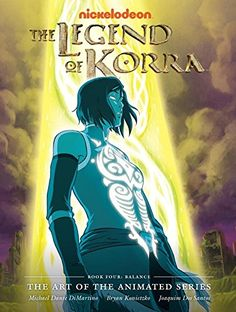 The Legend of Korra: The Art of the Animated Series, Book Four: Balance por Michael Dante DiMartino http://www.amazon.com.br/dp/1616556870/ref=cm_sw_r_pi_dp_Z8QVwb04VMY93