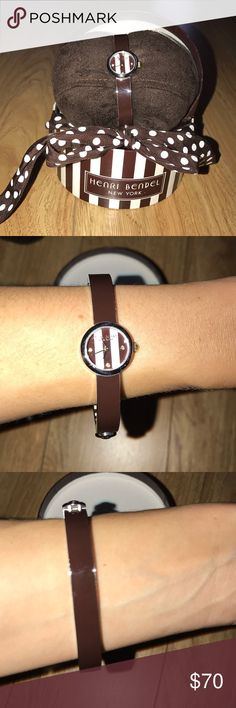 Brand new Henri Bendel watch Brand new Henri Bendel bangle watch. Battery is dead comes with box as pictured henri bendel Accessories Watches