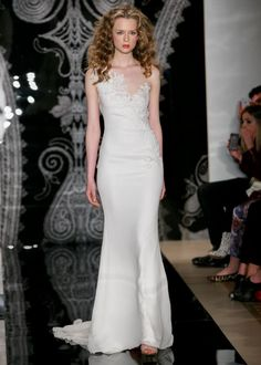 Spring 2014 Bridal: Smoldering Sensuality from Reem Acra   OneWed