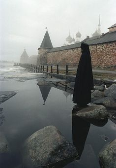 Solovetsky Monastery was founded in 1436. It is situated on the Solovetsky Islands in the White Sea. #medieval #Russian #history