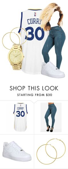 """""""Untitled #94"""" by arii-bankss ❤ liked on Polyvore featuring adidas, NIKE, Melissa Odabash and Michael Kors"""