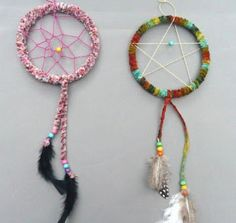 Native American art and craft ideas for kids and adults. Projects include: headbands, moccasins, masks, drums, dream catchers, medicine bags, and more.