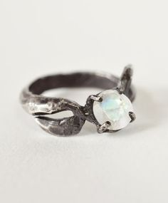Moonstone Nala Ring by Unearthen #ring #jewellery