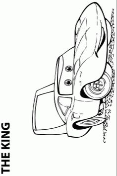 Cars 2 Printable Coloring Pages   ... cars, the sheriff ...