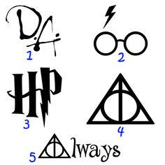 Harry Potter inspired Decal Vinyl Car Window Sticker 5 inch - You choose color and image by NerdyNoodle on Etsy