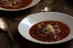 Hearty minestrone soup. http://www.vespresso.cooking/en/2015/12/minestrone-soup/