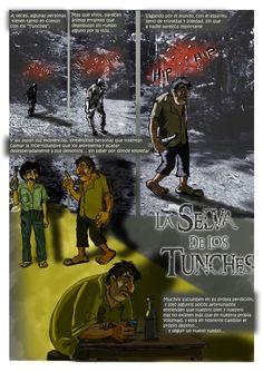 La selva de los Tunches, novela peruana, realismo mágico