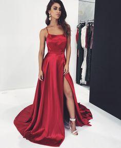 Red Bianca Prom Formal & Evening Dress