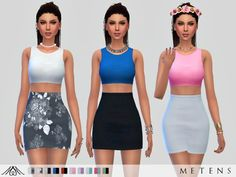 Work Dress by Metens at TSR
