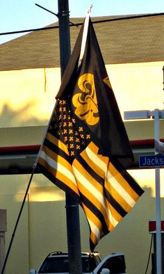 WE ARE the WHO DAT NATION!     I need one of these saints American flags