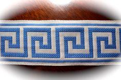 Hey, I found this really awesome Etsy listing at https://www.etsy.com/listing/179967285/greek-key-design-trim-ribbon-3-x-1-yard