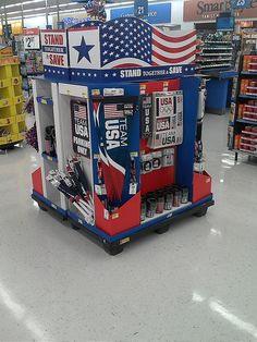 Team USA 1/2 Pallet by kendalkinggroup, via Flickr