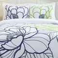 I know steve isn't into the floral, but I love the colors Floral Sketch Cotton 3-Piece Duvet Cover Set | Overstock.com Shopping - The Best Deals on Duvet Covers