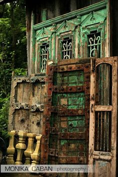 antique doors - love these !!