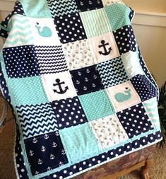 nautical-anchor-baby-whale-quilt-in-aqua-navy-and-white-available-in-2-sizes-nautical-baby-quilt-fabric-free-sailboat-baby-quilt-pattern-nautical-baby-quilt-patterns.jpg (570×613)
