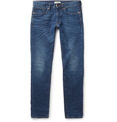 Incotex - Slim-Fit Stretch-Denim Jeans