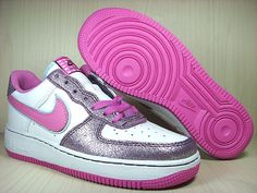 53f911fa2e3ee Elegant and trendy Women Sport Shoes with pink and silver color idea. Nike  Air ...