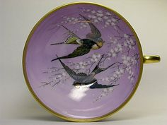 Dresden A. Lamm Swallow Cup and Saucer