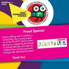 Shoutout to Our Partners  7th Lahore International Childrens Film Festival (16-21 Nov 2015) http://ift.tt/1HFWELq  #TLAORG #LICFF #LICFF15 #Lahore #Children #Partners #Film #Festival #Pakistan #Kids