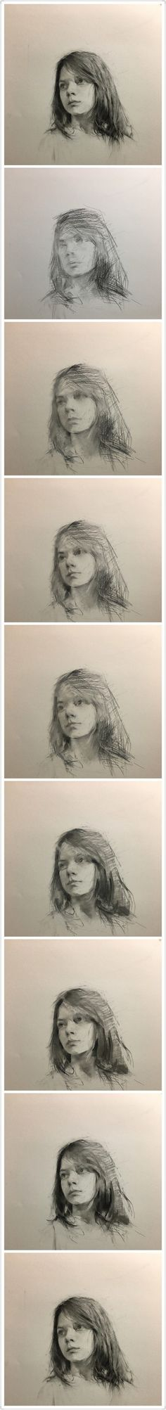 Drawing Pencil Portraits - 堆糖-美好生活研究所 Discover The Secrets Of Drawing Realistic Pencil Portraits Portrait Sketches, Pencil Portrait, Portrait Art, Art Sketches, Life Drawing, Figure Drawing, Painting & Drawing, Shetland, Beautiful Drawings
