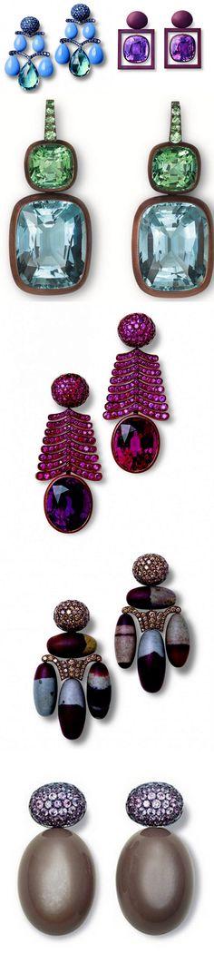 Fine Jewelry Gemstones Earrings by HEMMERLE.