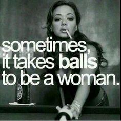 Takes balls always