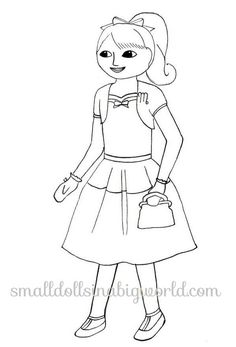 american girl coloring pages rebecca   Early American Home Life Coloring Page   Felicity ...