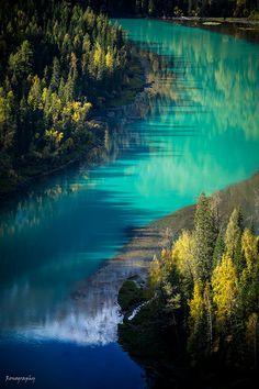Lake in Autumn (China)