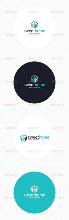 Sweet Home  Logo Design Template Vector #logotype Download it here:  http://graphicriver.net/item/sweet-home-logo/8729249?s_rank=1378?ref=nexion