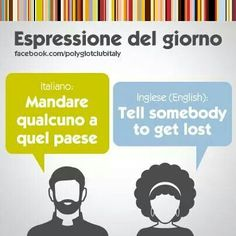 Learning Italian Language ~ Tell somebody to get lost
