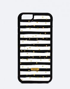 Manhattan-gold-and-black Manhattan, Office Supplies, Polka Dots, Cases, Gold, Black, Mobile Cases, Colors, Black People