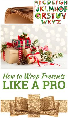 Learn how to wrap your Christmas presents like a pro this year.