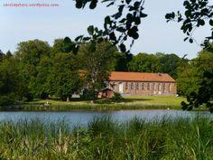 Blick auf den Marstall (Schlosspark Putbus)