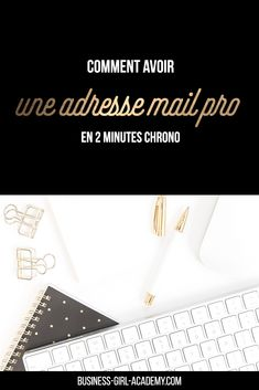 Comment avoir une adresse mail-pro en 2 minutes chrono #blog #blogging #email Mailing List, Burn Out, E-mail Marketing, Business Women, Blog, Girl Group, French, Entrepreneurship, French People