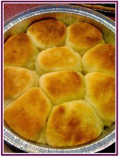 Sweet Tea and Cornbread: Easy Yeast Rolls!