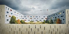 ATELIER THOMAS PUCHER wins competition for the new extension of the Salzburg Regional Hospital