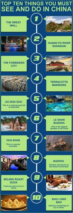 Top Ten Things You Must See and Do in China www.HostelRocket.com