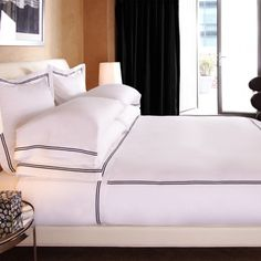 HOTEL CLASSIC  Since 1860, the name Frette has been synonymous with world-class luxury. We've furnished world-famous hotels such as the Savoy in London, the Ritz in Paris, and the Plaza, as well as the Orient Express and the Italian Royal Family with the highest-quality linens.