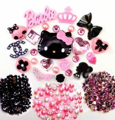 DIY Hello Kitty Bling Bling Cell Phone Case Resin Flatback Kawaii Cabochons Deco Kit / Set -- lovekitty by LoveKitty, http://www.amazon.com/dp/B007WXH4N4/ref=cm_sw_r_pi_dp_mKjAqb1JKABEG