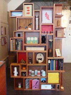 Confira estilos diferentes de estantes | Revista Casa Linda