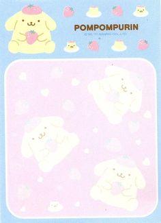 Kawaii memo paper - Pompompurin - Sanrio